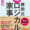 金スマで紹介された勝間和代さんの超ロジカル家事を観て思ったこと