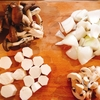 栗原はるみさんのレシピで長芋の酢豚を作る。