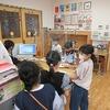 昼放課の図書館