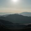 金剛山へ行ってきたが、今年は山頂の雪はいまいちだった
