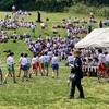 今日は浦和高校の新入生歓迎マラソン