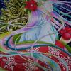 クリスマス平安姫進捗状況:私が絵を描く意味って何だろう