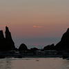 南紀串本 橋杭岩の朝日