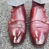 たまにはキャンキャンに鏡面靴磨き!!