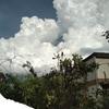 雲の美しい金曜日でした