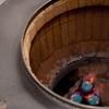 釜の温度と塩加減