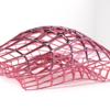 よくある網網した有機的形状のモデリング(ボロノイ風)