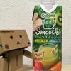 【飲料伝記】野菜生活100 Smoothie グリーンスムージーMix ~自然の甘みとトロみ、野菜たっぷり極上スムージーがお手軽に!~