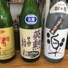 松の司、楽  しぼりたて生純米吟醸酒&英勲、特別純米生原酒21BY&雑賀、純米大吟醸の味。