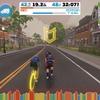 【ロードバイク】Zwiftインターバルトレーニング開始45日目_20200708