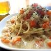 【雑穀料理】心も体も温まる優しい味わい!クラムチャウダー風スープパスタの作り方・レシピ【キヌア・アマランサス】