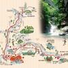 鍾乳洞と渓谷と温泉、奈良の山奥にある天川村に行ってきた。