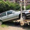 浦和区からレッカー車で放置車両の外車を廃車の引き取りしました。