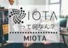 IOTA(アイオータ)/MIOTAって何なん?【ざっくり説明するアルトコイン】