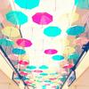 きれいな傘を