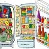 サランラップ ジップロック 冷蔵庫!