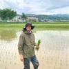田の植え直し終了。