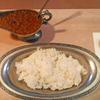 「タンドゥール」の「インドカレーとご飯」