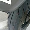 アドレスV125のブレーキパッドとリアタイヤを交換しました