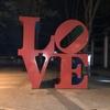 「LOVE」オブジェ@新宿