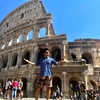 【ローマ観光】コロッセオと真実の口とピザの有名店までバスに乗って無賃乗車の旅【再会の地イタリア④】
