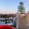 完成間近の新チューリップタワーと、春を呼ぶチューリップ展2021《冬の砺波散歩・その4》