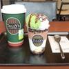アイスを抹茶にカスタマイズ♪ T's パフェバート クッキー&クリーム(タリーズ)