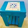 タイル 手作り ガーデンテーブル