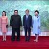 「完全な非核化」「平和協定 米中と協議」南北共同宣言