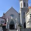 元町教会群にある「カトリック元町教会」と作家「亀井勝一郎生誕の碑」 @ 函館