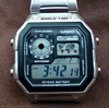 腕時計:CASIO AE-1200WH-1