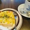 【星乃珈琲】たっぷりコーンのクロックムッシュ&カフェインレス珈琲≪モーニングセット≫
