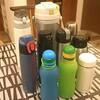 使っているなら無理に減らさない。水筒はこんなにたくさん持っています。