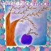 紫色のリンゴ