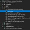 Windows Machine Learning Code GeneratorでAssetに追加したonnxファイルからcsファイルが生成されないことの解決策