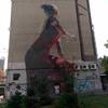 ウクライナ旅行[90] キエフの観光スポット(美術・芸術):壁画(ウォールアート)巡り(3)(2019年10月)