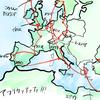 ヨーロッパ周遊、住所不定無職ガチ勢の旅を雑に振り返る