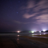 星景サルベージその99 雲の流れる浜辺