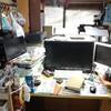 机を少しだけ広くなるようにレイアウト変更