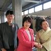 13日、福島市女性後援会春を呼ぶつどい。船山由美比例候補が挨拶、県政報告