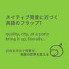 ネイティブ発音に近づく英語のフラップT③:quality, city, at a party...