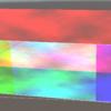 1枚のRawImageをRGBで3枚に分割して加算合成するジオメトリシェーダ