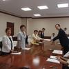 9月議会の知事申し入れ。安倍政権の戦争する国づくり、福島県民切り捨て許さず、憲法が生きる県政をと要望