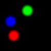 【GLSL】RGBの円