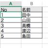 Excelで通し番号(連番)を付ける方法3選