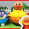 【アンパンマンYoutubeアニメ動画】アンパンマンなかよしサブマリンおもちゃを使ってお風呂で遊ぼう!