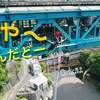 閲覧注意 4K Drone Japan 【絶叫 バンジー】空撮ドローン 竜神大吊橋 ドローン男子