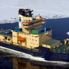 失業中の砕氷船