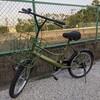 久々の有給休暇 自転車買いに、隣町へ