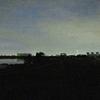 荒川河川敷ラン、夜明け前なら無問題!
